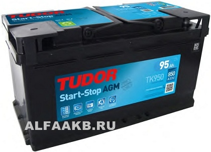 Аккумулятор Tudor Intelligent Power TK950 AGM