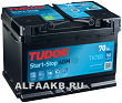 Аккумулятор Tudor Intelligent Power TK700 AGM